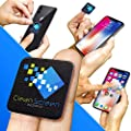 Clean Screen Wizard Microfiber Screen Cleaner Sticker, Handy Screen Cleaning for Cell Phone, iPhone, Samsung, Small Electronic Devices, Touch, Tech Gadgets, Stocking Stuffers, Gift Ideas from Moojou Enterprises