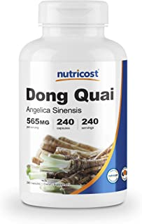 Nutricost Dong Quai 565mg, 240 Capsules (Angelica Sinensis)