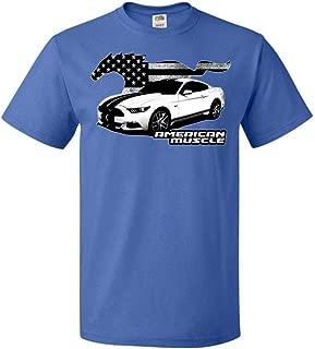 Ford Mustang GT 5.0 T-Shirt - American Flag Logo
