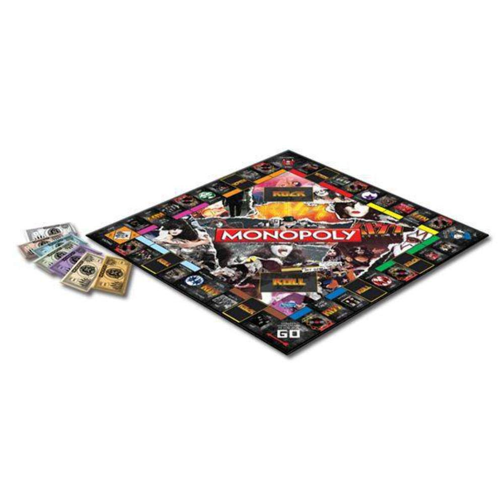 Monopoly Kiss - Property Trading Board Game - Gene Simmons and Paul Stanley Collectable: Amazon.es: Juguetes y juegos