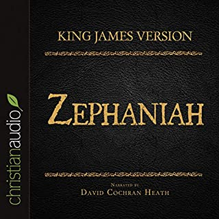 Holy Bible in Audio - King James Version: Zephaniah cover art