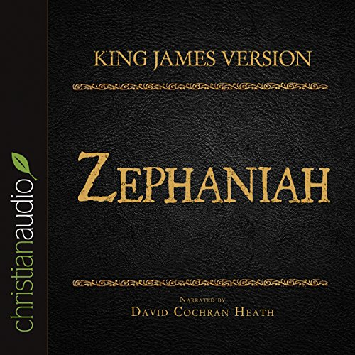 Holy Bible in Audio - King James Version: Zephaniah audiobook cover art