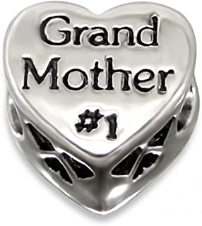 Sterling Silver Grand Mother Bead