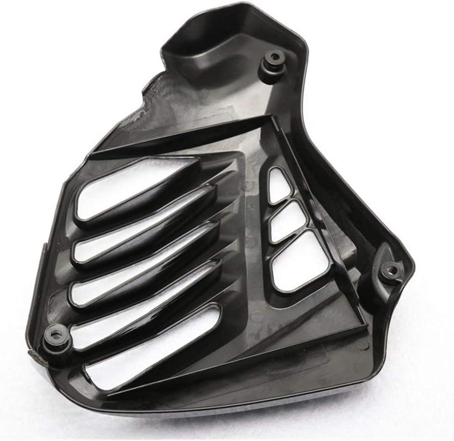 SSGLOVELIN Coperchio del Pannello radiatore in Fibra di Carbonio con Grana Forma for Yamaha NMAX NMAX K14 Color : Black