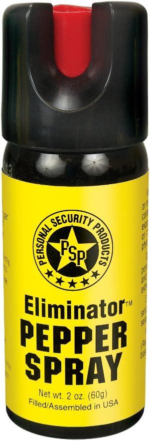 PS Products discount Eliminator 2 oz. Twist San Antonio Mall Lock Pepper Spray with