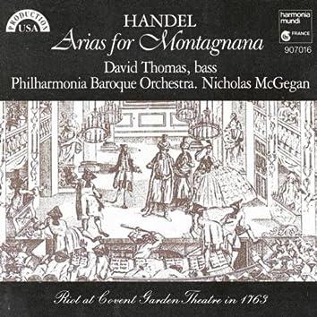 Handel: Arias for Montagnana