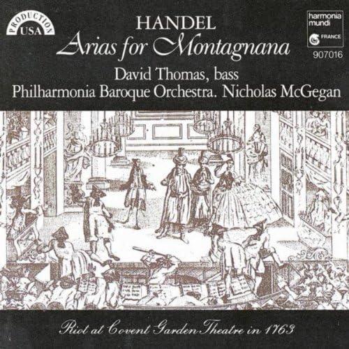 David Thomas, Philharmonia Baroque Orchestra & Nicholas McGegan