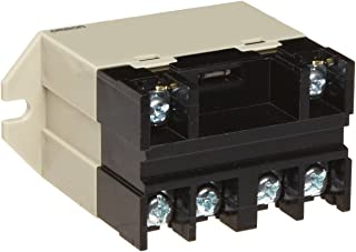 Omron G7L-2A-BUBJ-CB AC100/120 General Purpose Relay With Test Button, Class B Insulation, Screw Terminal, Upper Bracket Mounting, Double Pole Single Throw Normally Open Contacts, 17 to 20.4 mA Rated Load Current, 100 to 120 VAC Rated Load Voltage