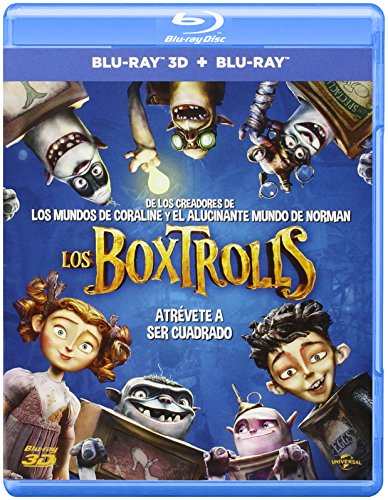 Los Boxtrolls (BD + BD 3D) [Blu-ray]