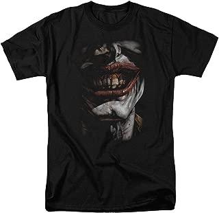 The Joker Smiles DC Comics T Shirt & Stickers