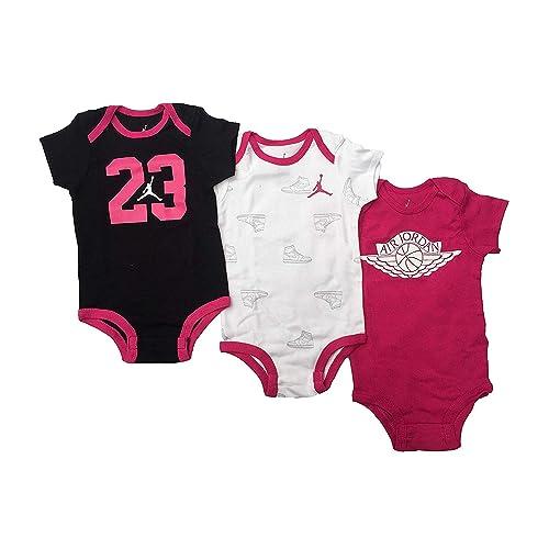 ca4a81065016 Nike Swoosh Three-Piece Infant Baby Bodysuit Set