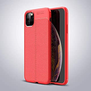 Business style for iPhone 11 Pro 5.8 inch litchi pattern mobile phone Case soft anti fall Protective sleeve all inclusive ...