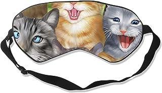 chien Masque de sommeil pour enfants en forme danimal 3D pour chat animal mignon