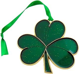 Westman Works Irish Christmas Ornament Shamrock Symbol of Ireland Tree Decoration, 3 7/8 Inch