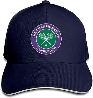 2016 Wimbledon Tennis Championships Flex Baseball Cap Black