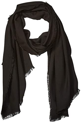 The Drop Women's Jessie Fringed Super-Soft Rectangle Scarf