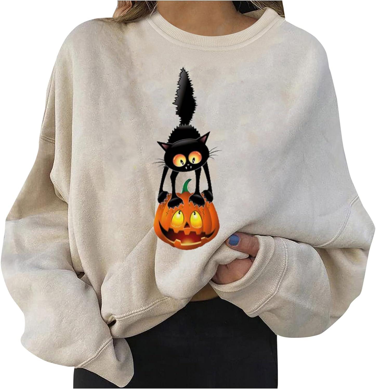 Halloween Pumpkin Shirt for Women Floral Pumpkin Graphic Shirt Funny Short Sleeve Thanksgiving Gift Tee
