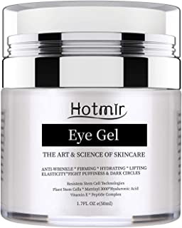 Sponsored Ad - Hotmir Eye Gel for Dark Circles and Puffiness, | Wrinkless and Fine Lines, | Anti-aging Bags, - Under Eye C...