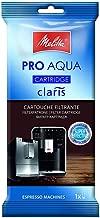Melitta 192830 Filterpatrone für Kaffeevollautomaten | Pro Aqua | Vorbeugung von Verkalkung | Einfache Anwendung | 1 Patrone