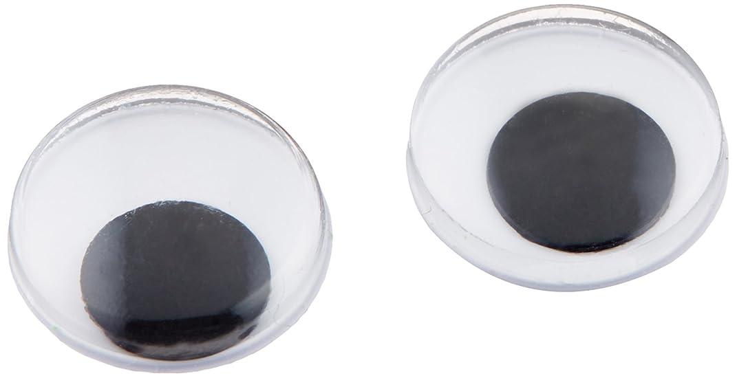 Darice 5112 Paste On Wiggle Eyes 12mm 118/Pkg-Black