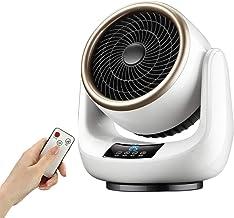 LTLJX 2000W Calefactor Eléctrico Cerámico, Baño Calentador de Ventilador Termoventiladores para Espacio Pequeño Dormitorio Oficina Hogar con Mando a Distancia