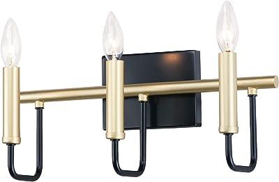 Amazon.com: Sullivan Vanidad de baño de 3 luces: Home ...