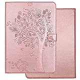 New iPad 9.7 2018 / 2017 Case, Big Tree Butterfly Cat Case