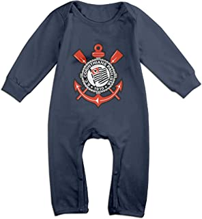 Ellem Cute Sport Club Corinthians Paulista Outfits for Newborn Baby Navy