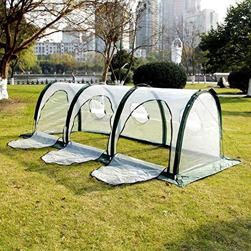 Hinterer Gartentunnel, Gartentunnelgewächshaus, Gartenpflanze wachsen Haus, Isolierung im Freien, die Schutz pflanzt, Tunnel-Minigartenarbeit-Sonnenschutz-Gewächshaus im Freien