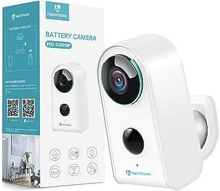 HeimVision HMD3 Überwachungskamera, 1080P Akku Kabellose WLAN Kamera, 2,4GHz WiFi, PIR..