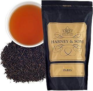 Harney & Sons Paris Tea, 16 oz Loose Leaf Tea, Black Tea with Caramel and Fruit Flavors