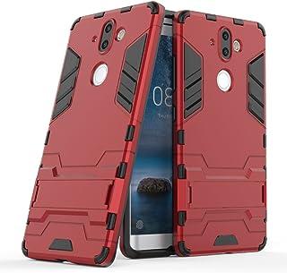Carcasa Protectora de Silicona Superior Lujoso Dibujo de Costa Fosforescente Antipolvo Resiste a los Ara/ñazos Fundas Resistente para para Nokia 8 Resistente a Golpes FUBAODA Funda para Nokia 8