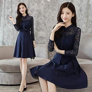 Tenis Mensdxa Vestido De Rayas Vestido De Coreano De Las