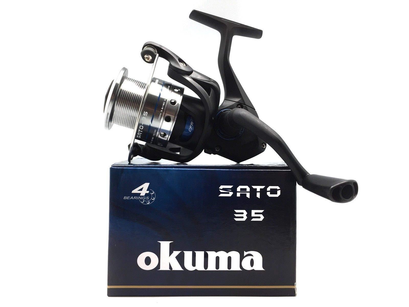 Okuma Carrete Sato Spin 35: Amazon.es: Deportes y aire libre