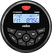 $78 » Boat Bluetooth Marine Stereo Radio Boat Radio AM FM Tuner Bluetooth Streaming Music Digital Media on Boats Golf Cart ATV U...
