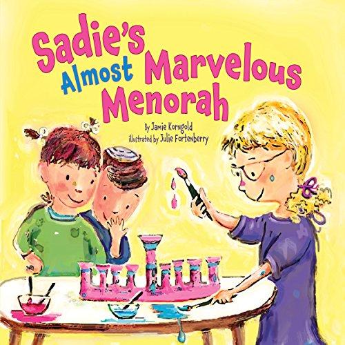 Sadie's Almost Marvelous Menorah copertina