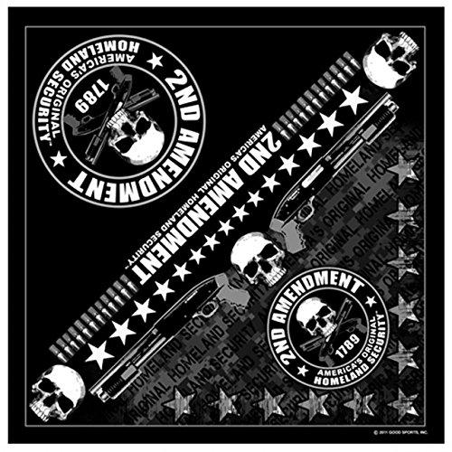 Harley-Davidson Men/'s Patriotic 24 Inch Square Grunge Bandana BA29084