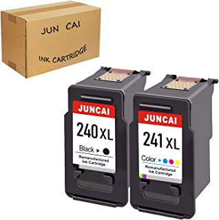 Refilled Ink Cartridge Replacement for Canon PG 240XL 240 XL CL 241XL 241 XL Used for Canon PIXMAMG3620 MX472 MX452 MG3220...