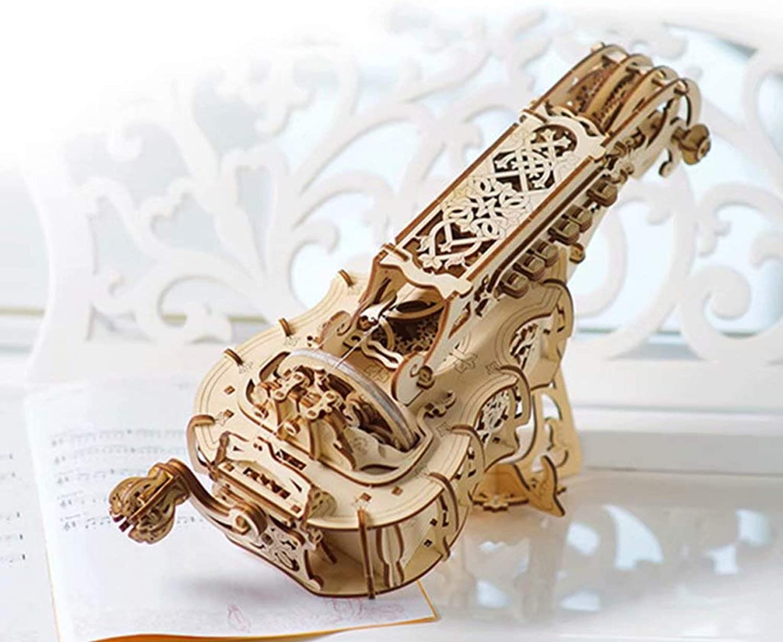 a la venta Modelo de transmisión mecánica de Madera DIY Adulto ensamblado ensamblado ensamblado Juguete Rompecabezas Regalo Ciencia Juguete Rompecabezas Tridimensional  100% garantía genuina de contador