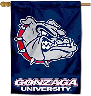 College Flags and Banners Co. Gonzaga University Bulldogs House Flag