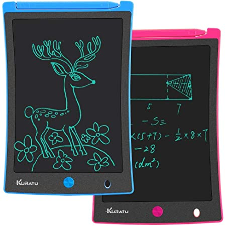 CVEUE CO LCD Writing Tablet 3 Pcs 8.5 Inch Childrens Drawing Board LCD Handwriting Board Non-Magnetic Drawing Board Portable LCD Writing Tablet for Kids Adult LCD Writing Tablet Kids