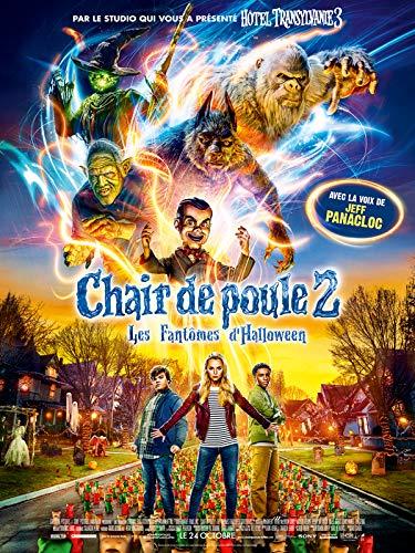 Affiche Cinéma Originale Petit Format - Chair De Poule 2 : Les Fantômes d'halloween (Format 40 x 53 cm pliée)