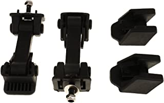 Gazechimp 2 Pieces Black Hood Lock Catch Latches Kit for Jeep Wrangler TJ 1997-2007