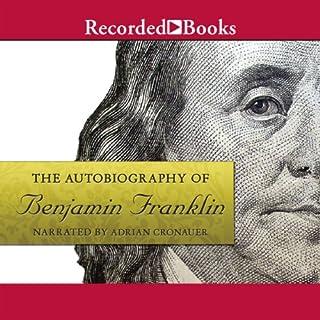 The Autobiography of Benjamin Franklin audiobook cover art