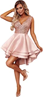 hot sale online 40cfe 31e90 Amazon.it: vestito elegante donna cerimonia corto