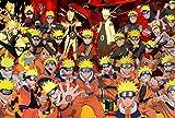 EXking Na-rut-o - Puzzle de Personajes de Anime para niños y Adultos, Grandes Pinturas intelectuales educativas, Juego de Rompecabezas, Juguetes, Regalo para Juegos, decoración de la Pared del hogar