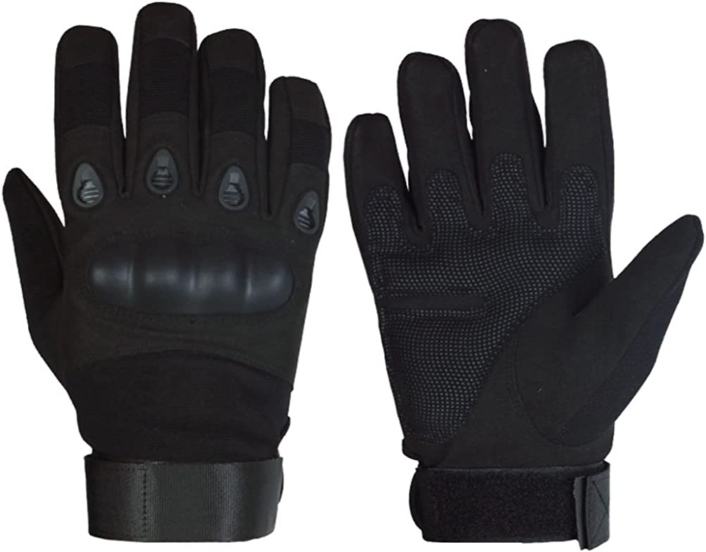 Professional Anti-skid Sports Safe Military Grade Carbon Fibre Tactical Mittens