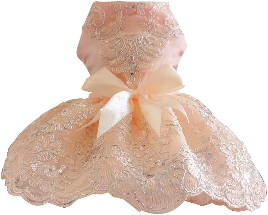 Dog Dress Princess Skirt Wedding Super sale with Clothes Seq New Orleans Mall