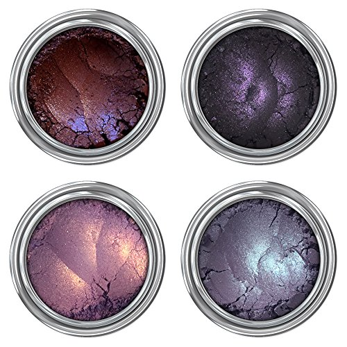 Concrete Minerals Eyeshadow | Longer-Lasting With No Creasing | 100% Vegan and Cruelty Free | Handmade in USA (Black Magic)