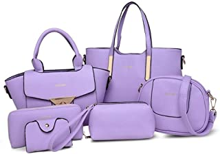 Handbags Women's Bag set of 6 Handbag Single Shoulder Slung Large Capacity Ladies Big Bag